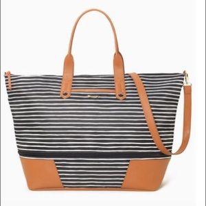 Stella and Dot expandable getaway bag